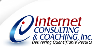 Internet Consulting and Coaching, Inc.  Internet Consulting, Internet Marketing, Search Engine Optimization, Search Engine Marketing, Website Design, SEO Copywriting, PPC Advertising, Link Building and Social Networking Services.